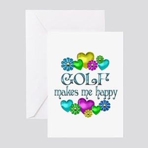 Golf greeting cards cafepress golf happiness greeting cards pk of 20 m4hsunfo