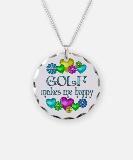 Golf Happiness Necklace