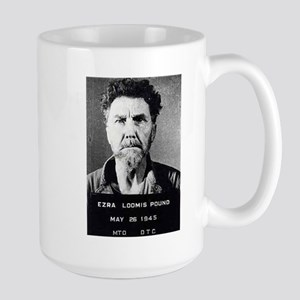 Ezra Pound mug shot Large Mug