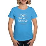 Fight Like A Cherub Women's Dark T-Shirt