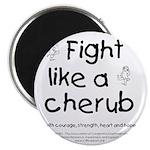 Fight Like A Cherub Magnet