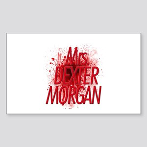 Mrs. Dexter Morgan Sticker (Rectangle)