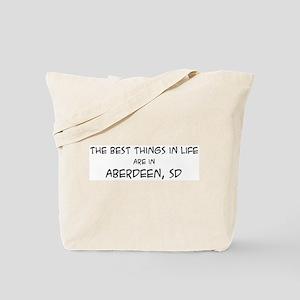 Best Things in Life: Aberdeen Tote Bag