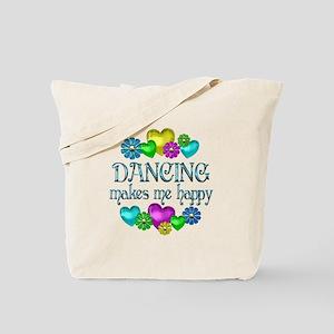 Dancing Happiness Tote Bag