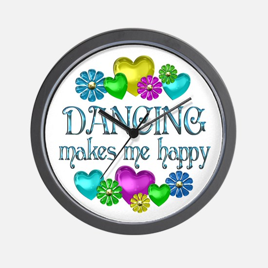 Dancing Happiness Wall Clock