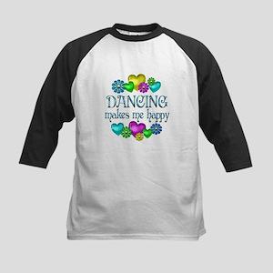 Dancing Happiness Kids Baseball Jersey