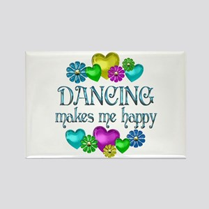Dancing Happiness Rectangle Magnet