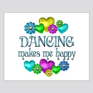 Dancing Happiness Small Poster