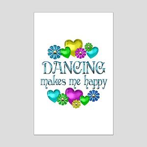 Dancing Happiness Mini Poster Print
