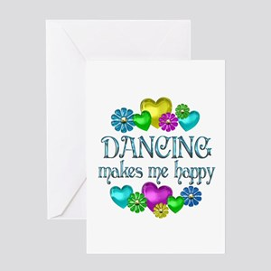 Dancing Happiness Greeting Card