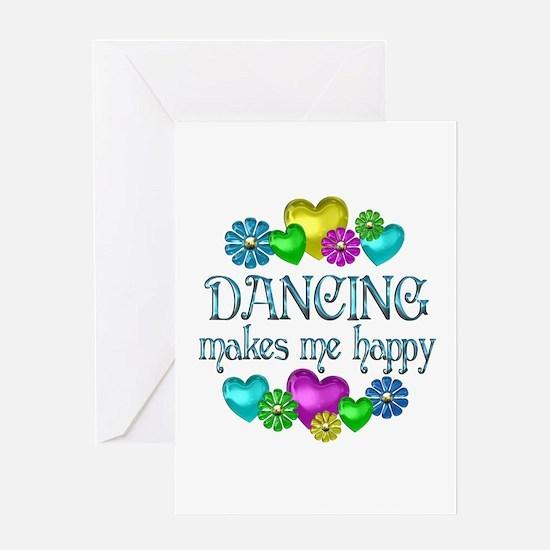 Dancing Happiness Greeting Card