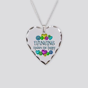 Dancing Happiness Necklace Heart Charm
