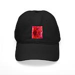 Pink Leaves Black Cap