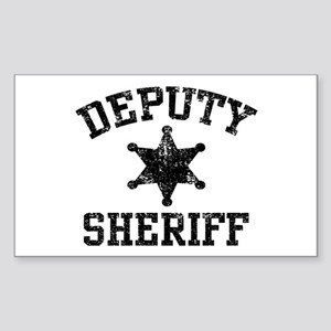 Deputy Sheriff Sticker (Rectangle)