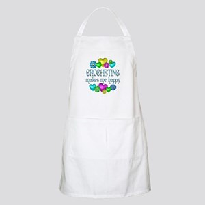 Crocheting Happiness Apron