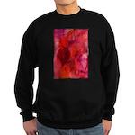 Pink Leaves Sweatshirt (dark)