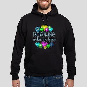 Bowling Happiness Hoodie (dark)