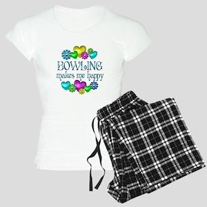 Bowling Happiness Women's Light Pajamas