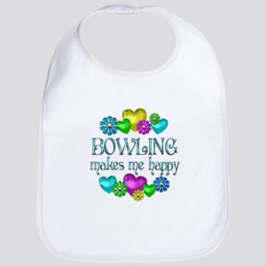 Bowling Happiness Bib