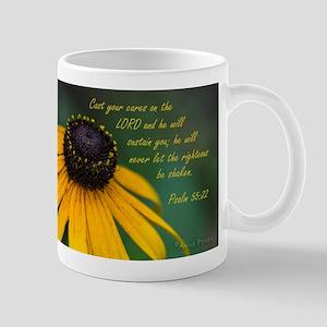 Cast your cares Mugs