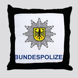 German Police Throw Pillow