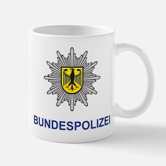 German Police Mug