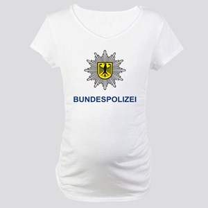 German Police Maternity T-Shirt