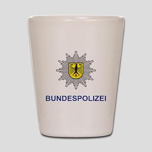 German Police Shot Glass