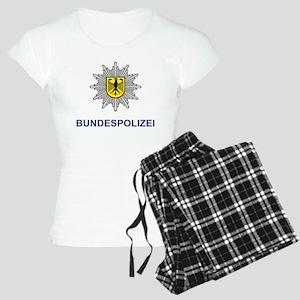 German Police Women's Light Pajamas