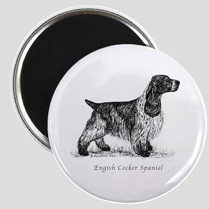 English Cocker Spaniel Magnet