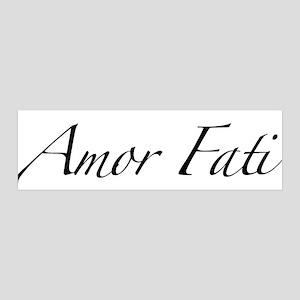 Amor Fati 42x14 Wall Peel