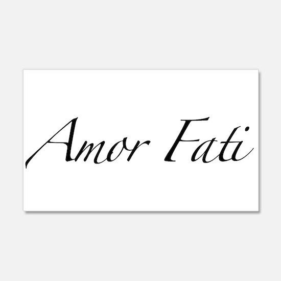 Amor Fati 22x14 Wall Peel