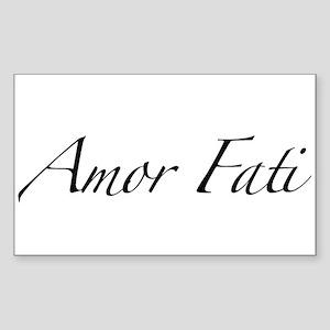 Amor Fati Sticker (Rectangle 10 pk)