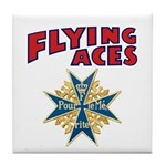 Flying Aces Club Tile Coaster