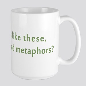 Friends Mixed Metaphors Large Mug