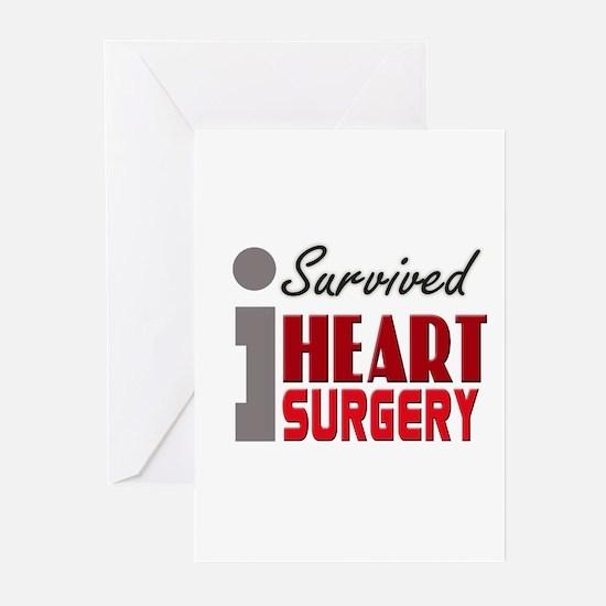 Heart Surgery Survivor Greeting Cards (Pk of 10)