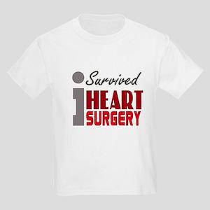 Heart Surgery Survivor Kids Light T-Shirt