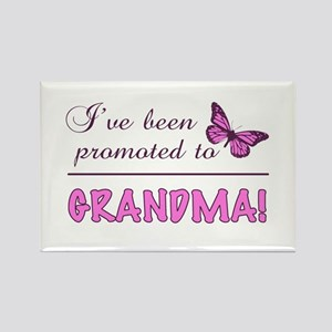 Promoted To Grandma Rectangle Magnet