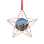 Half Dome Copper Star Ornament