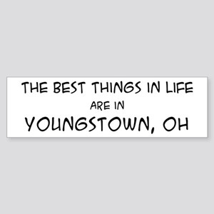 Best Things in Life: Youngsto Bumper Sticker