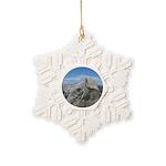 Half Dome Snowflake Ornament