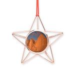 Mt. Whitney Copper Star Ornament
