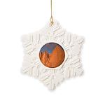 Mt. Whitney Snowflake Ornament