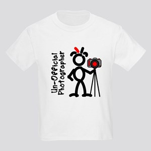 Red UnOffPhoto2 Kids T-Shirt