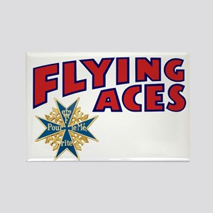 Flying Aces Club Rectangle Magnet