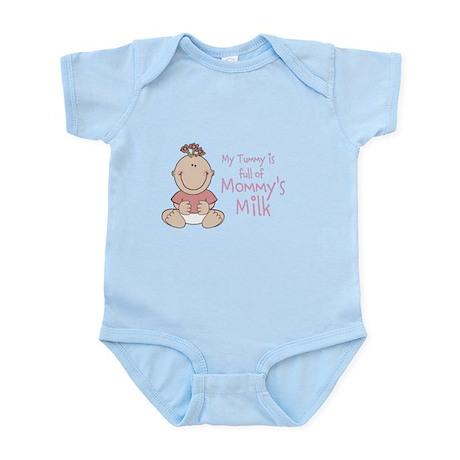 Tummy Full of Mommy's Milk Infant Bodysuit