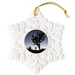 Jtree Twilight Snowflake Ornament