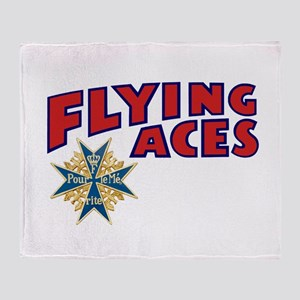 Flying Aces Club Throw Blanket