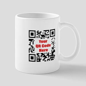Personalized QR Code Mug