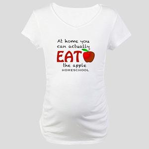 Homeschool Maternity T-Shirt